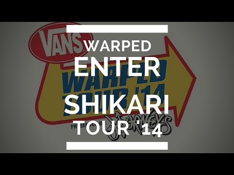 Enter Shikari Vans Warped Tour 2014 Interview! Vernaculars, Accents and Tattoos!