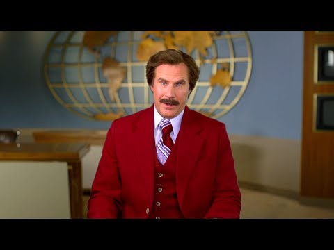 A Special Christmas Message from Ron Burgundy