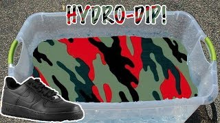 HYDRO Dipping AIR Force 1's -6