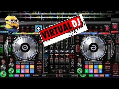 skins para virtual dj 8 .2  2016