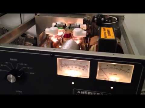 AMERITRON AL811H - RF power amplifier at IZ7PDX Italian Radioamateur Station