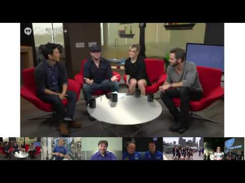 "NASA Connects Space Station and ""Star Trek Into Darkness"" Crews in a Google+ Hangout"