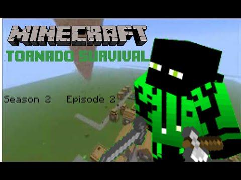 Mining! (Minecraft Tornado Survival S2 E2)