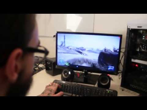 Battlefield 3 e UNBOXING do PC do PC Gamer da Chipart