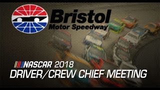 Drivers Meeting Video: Bristol