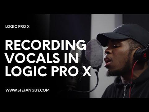 Recording Vocals In Logic Pro X