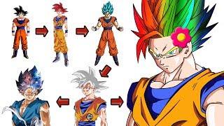 Explicación: Líneas Evolutivas del Goku