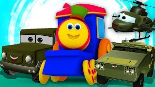 Visit To The Army Camp | Bob The Train Cartoons by Kids Tv