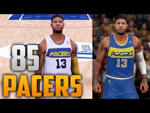 NBA 2K16 1985 Indiana Pacers Jersey & Court Tutorial