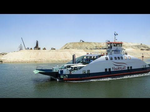 Suez Canal expansion: high hopes as Egypt inaugurates improved waterway