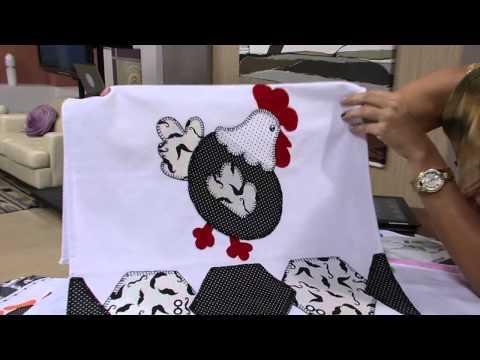 Mulher.com 24/05/13 Maria Helena Gobbi - Pano de copa  Parte 2/2