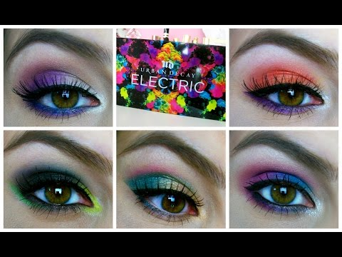 Urban Decay Electric Palette Review & Electric Challenge!