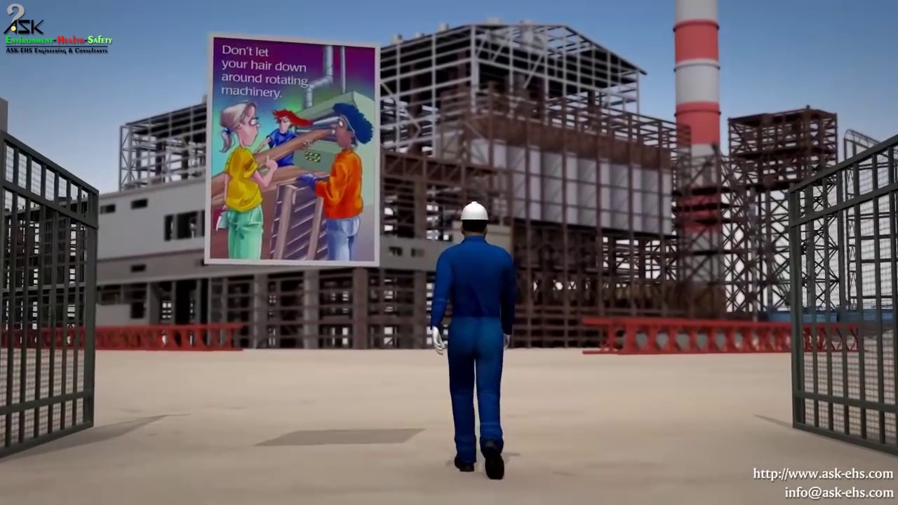 An Animated Approach To Hse Management Solutions Male