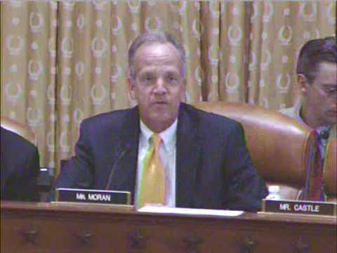 Congressman Moran Questions Sec. Geithner