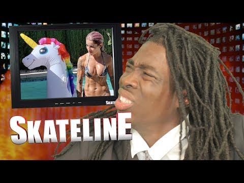 SKATELINE - Leticia Bufoni & Chris Cole Off Plan B, Nyjah Huston, Andrew Reynolds, Evan Smith