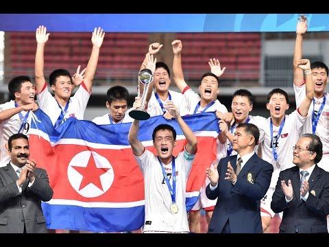 FINAL: Korea Republic vs Korea DPR, AFC U-16 Championship 2014