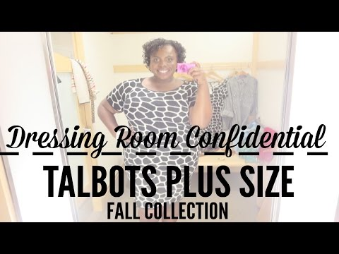 Plus Size Shopping At Talbots   Dressing Room Confidential