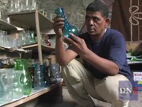 Glassblower in Egypt