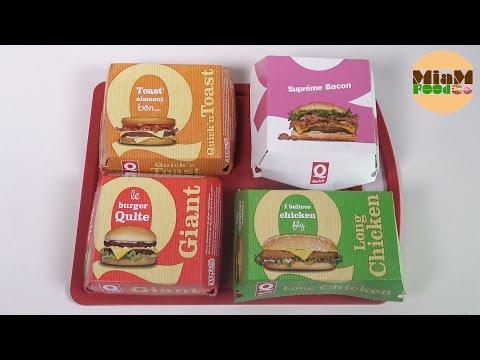 [FAST FOOD] HOMMAGE A QUICK QUI DISPARAIT ! 4 burgers cultes - Studio Bubble Tea Food unboxing food