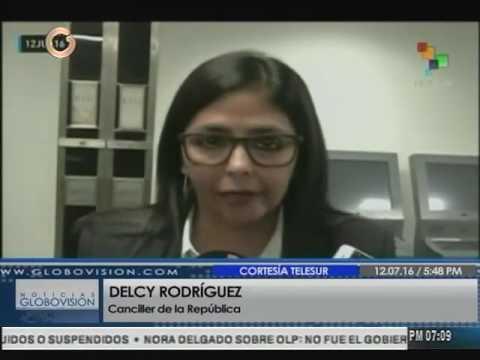 Delcy Rodríguez: Venezuela está