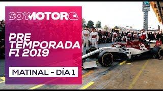 F1 2019 Test Barcelona, día 1 - Matinal
