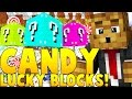 CANDY LUCKY BLOCK MOD CHALLENGE (Sky Islands PVP) | Minecraft...