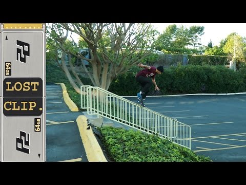 Anthony Shetler Lost & Found Skateboarding Clip #118