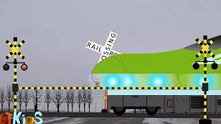 Đường Sắt Của Trẻ Em Anime | Hoạt Hình Cho Trẻ Em ★ Đường Sắt Đi Qua Shinkansen · Hãy Tìm Hiểu Về M