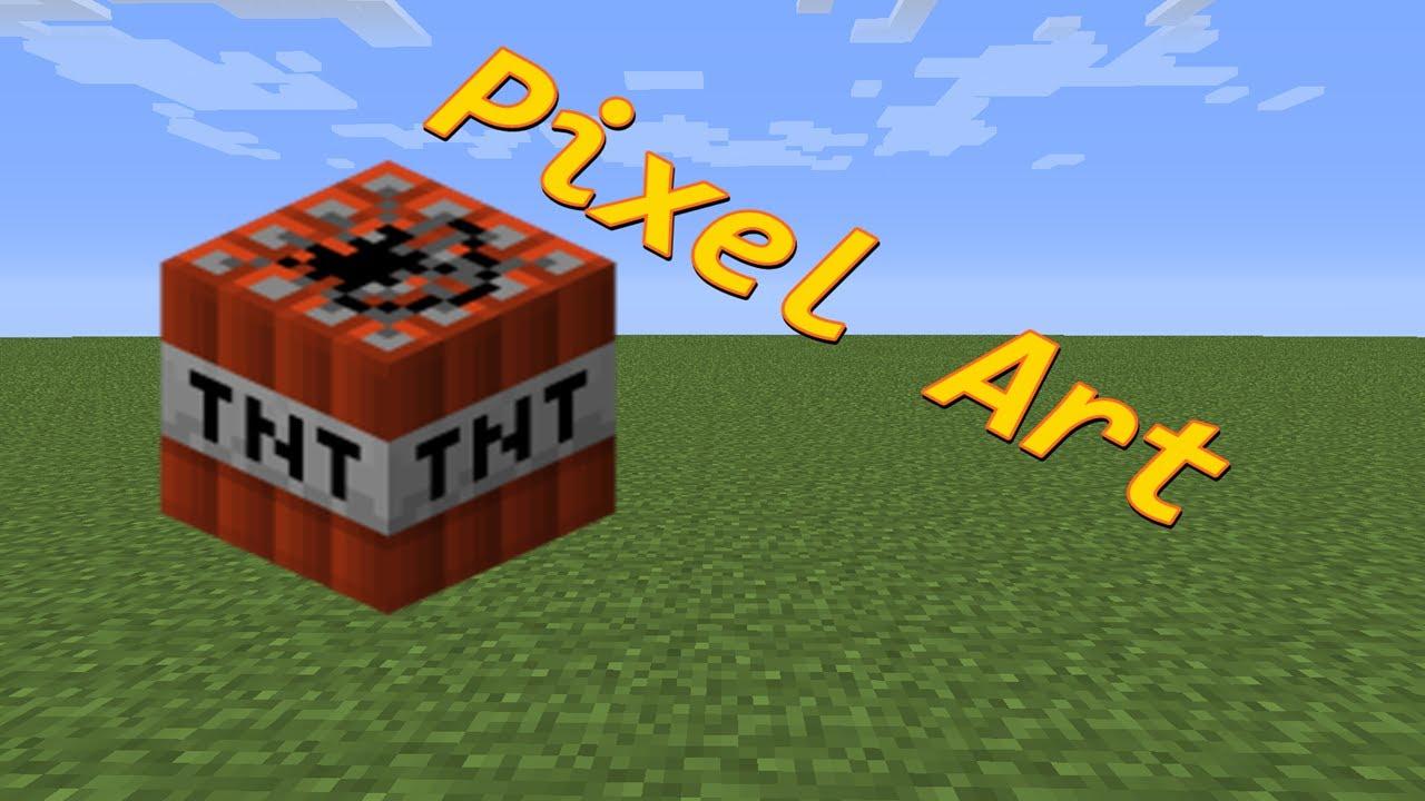 Tnt Pixel Art Minecraft Minecraft Tnt Pixel Art