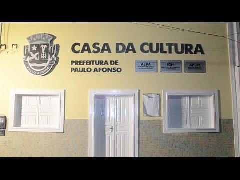 Grande público prestigia inauguração da casa da cultura