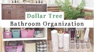 (11.7 MB) Dollar Tree Bathroom Organization | Organize With Me! | momma from scratch Mp3