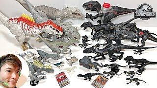 My Indoraptor vs indominus Rex Toys Collection Update! Fun Dinosaur Video For Kids