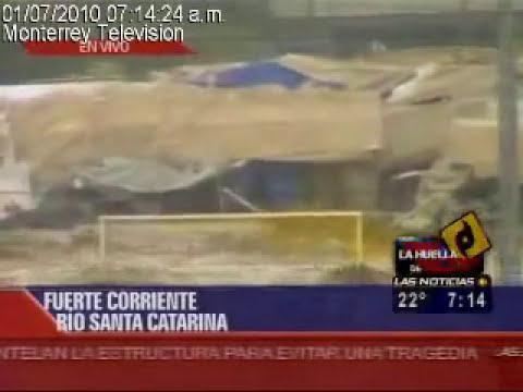 HURACAN ALEX EN MONTERREY DEJO GRANDES DAÑOS