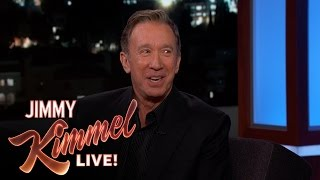 Tim Allen on Going to Donald Trump
