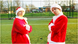 CHRISTMAS FOOTBALL CHALLENGES!!!! With ChrisMD & Tobi