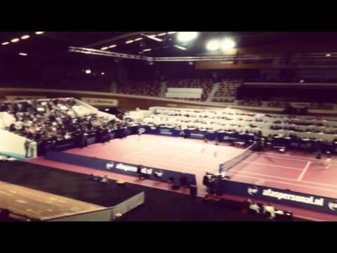 Relatiedag Sport & Zaken bij AFAS Tennis Classics in Omnisport, Apeldoorn