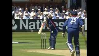 Nasser Hussain 115 vs India ODI Lords 2002 (F@#$ing 3!!!!)