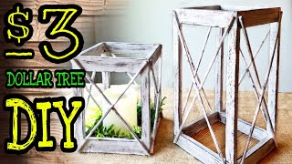 Dollar Tree DIY Lantern / Dollar Tree DIY Room Decor
