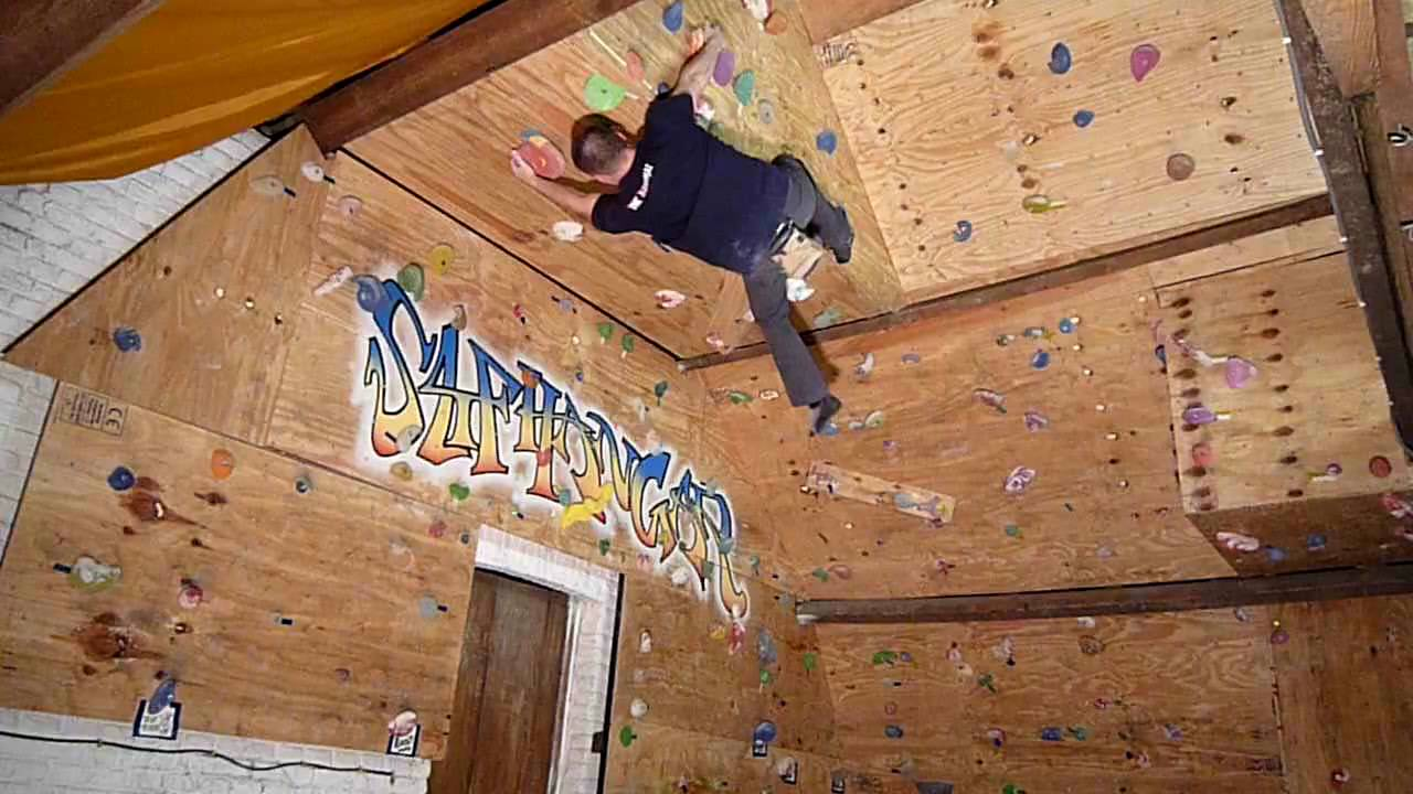 Climbing My Home Made Wall YouTube