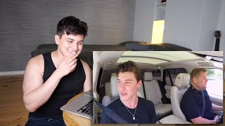 Vocal Coach Reaction to Shawn Mendes Carpool Karaoke