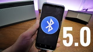 ventajas del BLUETOOTH 5.0 (galaxy S8)