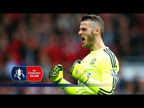 David de Gea Special - Crystal Palace v Man Utd (2015/16 Emirates FA Cup Final) | FATV Focus