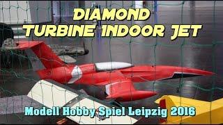 RC Erster Turbinen Indoor Jet der Welt 2016 - DIAMOND von Christian Huber DMFV