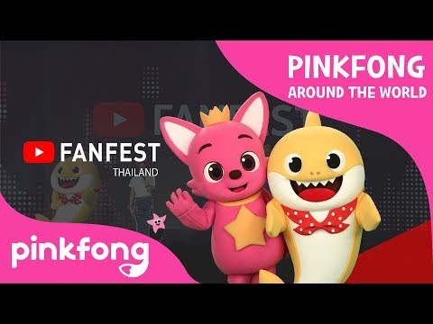 Pinkfong Around the World | YouTube Fanfest Bangkok 2018 | Zommarie, BNK48, Bie the Ska and more!