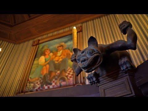 [4K-Extreme Low Light] Phantom Manor - Disneyland Paris