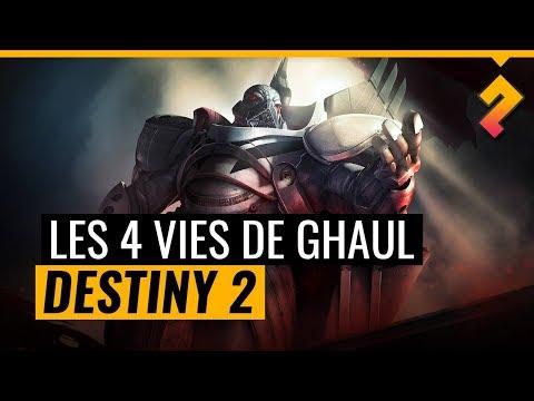 Les 4 vies de Ghaul et sa bromance avec Calus ! Lore Destiny 2