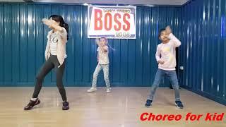 Hiphop Choreo kid /Boss dance studio (ส19/5/61)