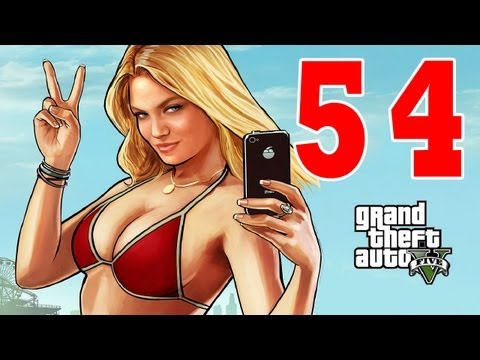 Let´s Play Grand Theft Auto 5 / GTA V Gameplay Deutsch - Part 54 - Franklin baut Scheiße Teil 2