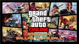 GTA 5  Online - Mission #01 - Ballas to the Wall [Hard Difficulty] - [NO COMMENTARY] - ITA - [HD]