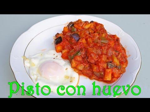 Pisto Andaluz receta de cocina Andalucía España